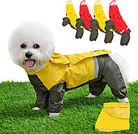 Дождевик для собак плащёвка