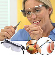 Увеличительные очки Big Vision с подсветкой, очки лупа для мелких работ, Интересные товары для дома