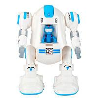 Робот конструктор на батарейках Diy Cute Robot, игрушка интерактивный робот, Конструкторы и гоночные треки