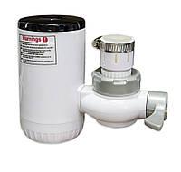 Водонагрівач електричний проточний на кран (RX-013) електро кран миттєвого нагріву води (GIPS)