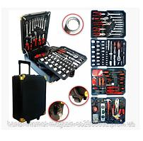 Набір інструментів у валізі, великий набір WMC TOOLS 5 в 1, з колесами