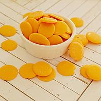 Глазурь кондитерская оранжевая МИР (чипсы) 250 гр.