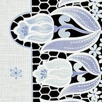 """Клеенка виниловая, ажурная, """"Лейс"""" NT-095-B (1,32м*22м)"""