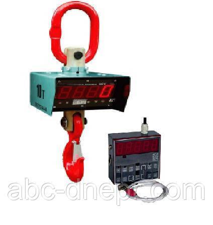 Весы крановые 10 тонн с радиоканальным пультом