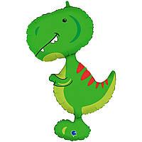 """Гелієві 3207-2715 Кулька Р 38"""" ФІГУРА ПАК Тиранозавр"""
