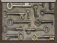 Ключница BST 020019 25x20 см коричневая