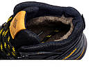 Мужские зимние кожаные ботинки Columbia NS Black | Ботинки мужские зимние кожаные | Ботинки мужские зимние, фото 9