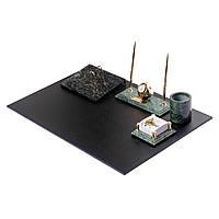 Настольный набор мраморный BST 540199 65х44 на 8 предметов, фото 1