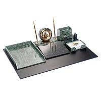 Настольный набор для руководителя мраморный на 7 предметов BST 540201, фото 1