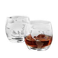 Набір 2 склянки BST 640007 Навколо Світу, фото 1