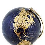 Глобус 14,2 см см Темно - Синий, фото 2