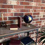 Глобус 14,2 см см Темно - Синий, фото 8