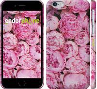 "Чехол на iPhone 6s Пионы v3 ""2739c-90"""