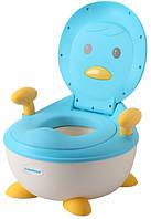 Дитячий горщик Babyhood Пінгвін блакитний (BH-113B), фото 1