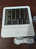 Термометр с измерением влажности для внутренней и наружной температуры (CX-301A), фото 2