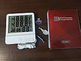 Термометр с измерением влажности для внутренней и наружной температуры (CX-301A), фото 6