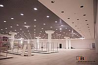 Монтаж подвесного потолка Грильято