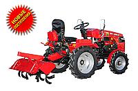 Трактор DW 150RX Почвофреза 100 и дополнительный редуктор с навесным механизмом