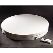 Ø 60см/max-100кг Поворотний 3d стіл з ПДУ для предметної зйомки FTR-RC6008 1198, фото 3