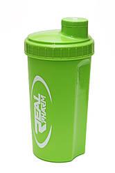 Шейкер для спортивного питания Real Pharm green