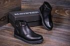 Ботинки мужские зимние  Kristan City Traffic Black |Ботинки мужские зимние кожаные | Ботинки мужские зима, фото 9