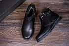 Ботинки мужские зимние  Kristan City Traffic Black |Ботинки мужские зимние кожаные | Ботинки мужские зима, фото 10