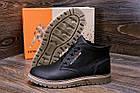 Мужские зимние кожаные ботинки Tommy Hilfiger | Зимние мужские ботинки кожа |Обувь мужская Зима| Ботинки, фото 9