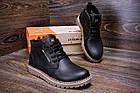 Мужские зимние кожаные ботинки Tommy Hilfiger | Зимние мужские ботинки кожа |Обувь мужская Зима| Ботинки, фото 2
