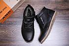 Мужские зимние кожаные ботинки Tommy Hilfiger | Зимние мужские ботинки кожа |Обувь мужская Зима| Ботинки, фото 10