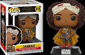 Фигурка Funko Pop Фанко Поп Star Wars Звёздные войны Jannah Джанна 10 см SW J 315