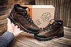 Мужские зимние кожаные ботинки Columbia NS Chocolate Мужские кожаные кроссовки |Зимнее кожаные ботинки мужские, фото 6