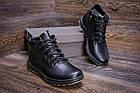 Чоловіче зимове шкіряне взуття | Зимнее кожаные ботинки мужские | Мужская зимняя обувь | Е-series New Line, фото 8
