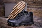 Чоловіче зимове шкіряне взуття | Зимнее кожаные ботинки мужские | Мужская зимняя обувь | Е-series New Line, фото 9