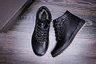 Чоловіче зимове шкіряне взуття | Зимнее кожаные ботинки мужские | Мужская зимняя обувь | Е-series New Line, фото 10
