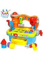 """Игрушка Huile Toys """"Столик с инструментами"""", развивающий столик, детский столик с инструментами"""