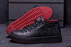 Мужские зимние кожаные ботинки ZG Black Exclusive Leather | Спортивные зимние ботинки | Качественные, фото 9