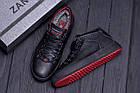 Мужские зимние кожаные ботинки ZG Black Exclusive Leather | Спортивные зимние ботинки | Качественные, фото 10