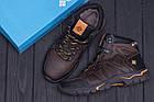 Мужские зимние кожаные ботинки Columbia Chocolate | Зимнее кожаные ботинки мужские | Ботинки мужские зимние, фото 10
