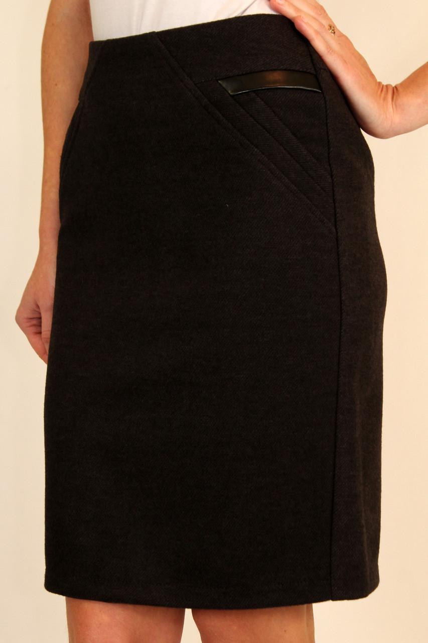 Зимняя юбка карандаш из кашемира 42-48 р ( разные цвета )