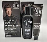 American Crew Precision Blend 4-5 Система маскировки седины Набор, в наборе система и проявитель !