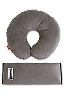 Комплект дорожный для сна Eternal Shield, дорожная подушка (серый)