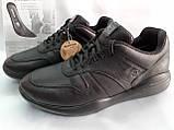 Стильные осенние кожаные полуботинки под кроссовки Bertoni, фото 4