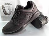 Стильные осенние кожаные полуботинки под кроссовки Bertoni, фото 2