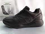 Стильные осенние кожаные полуботинки под кроссовки Bertoni, фото 3