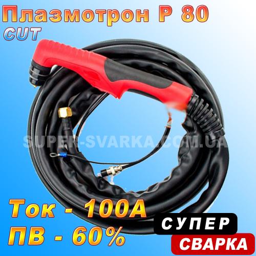 Плазмотрон Р-80 CUT-60, 70, 80, 100 (5 или 8 метров)