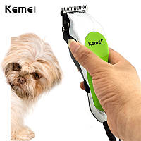 Машинка для стрижки животных KEMEI KM-736 проводная, инструменты для груминга, инструменты для груминга, набор