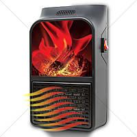 Портативный обогреватель с имитацией камина Flame Heater, тепловентиляторы электрические, тепловентиляторы,