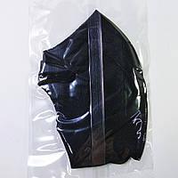 Маска питта защитная для лица многоразовая Pitta Mask, 1шт черная