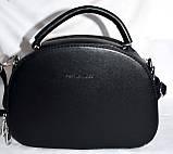Женские молодежные клатчи, маленькие сумочки из искусственной кожи на 2 молнии (серый и черный), фото 3