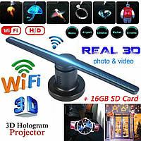 Голографический 3D проектор вентилятор Holographic FAN / Голографический 3d проектор вентилятор,